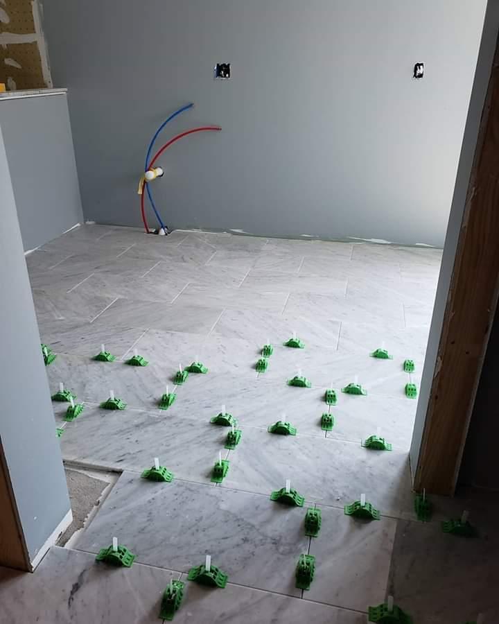 marble flooring installation