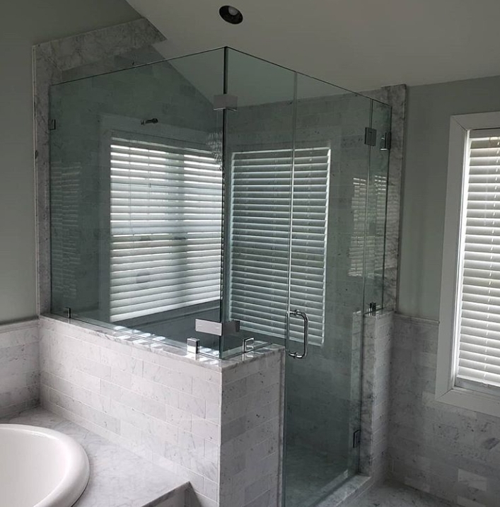 Marble bathroom finished