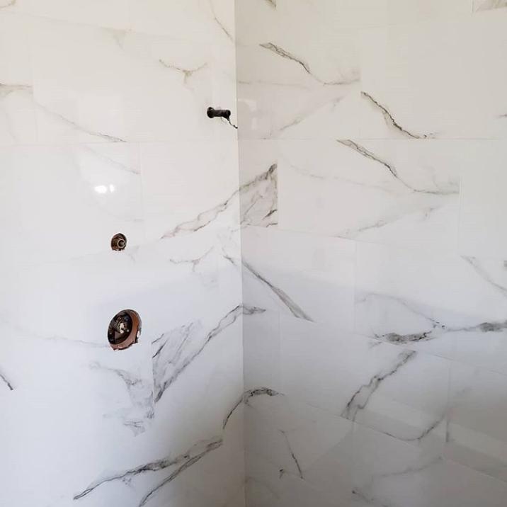 porcelain shower