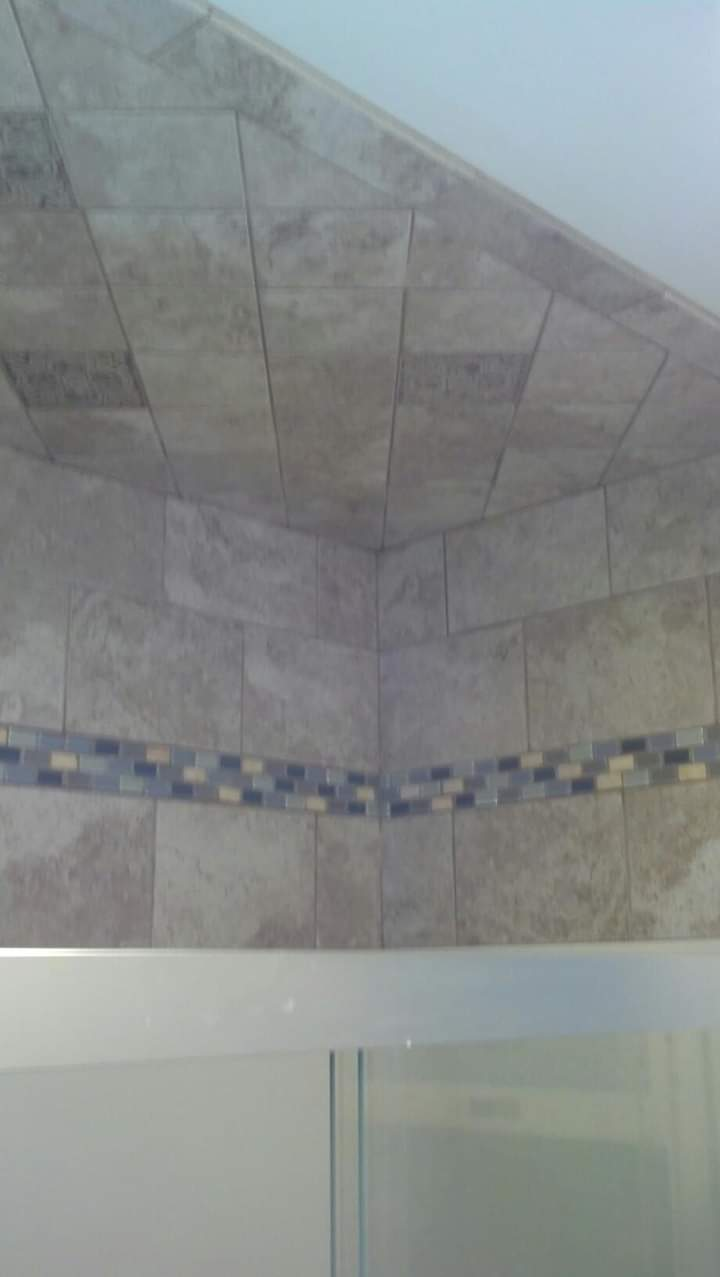 tile ceiling on diagonal