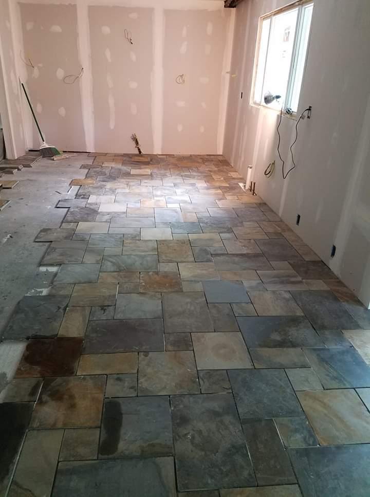 Custom Kitchen Tile
