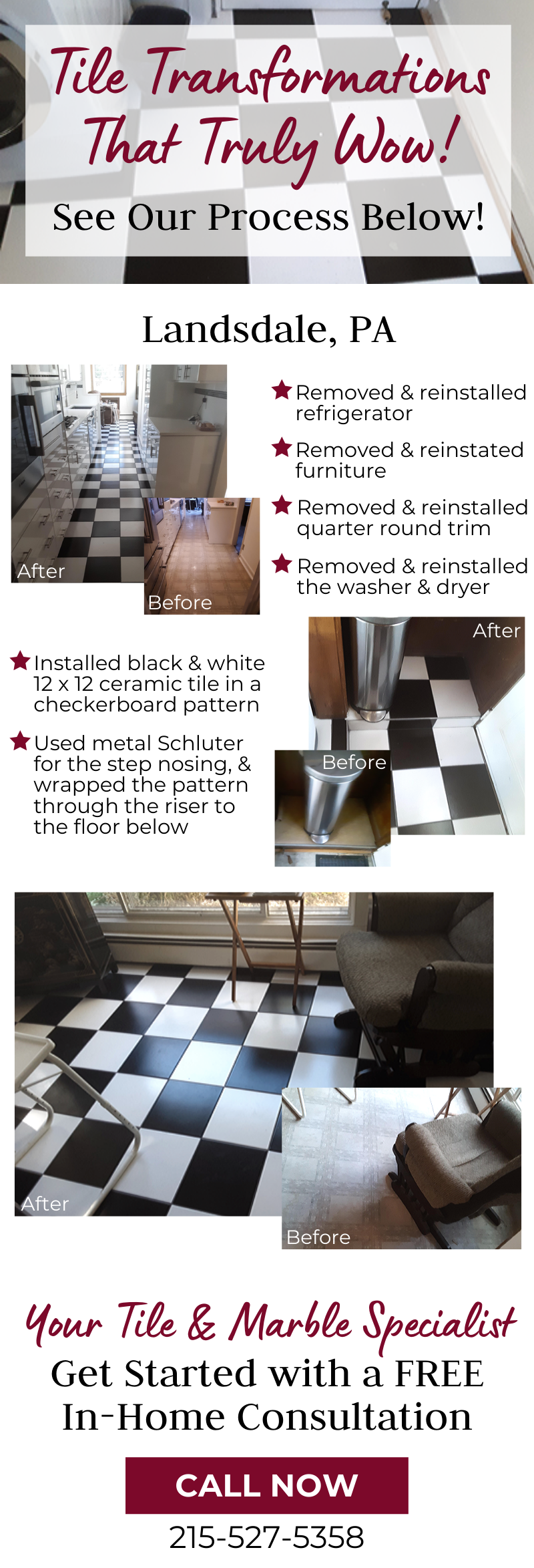 Tile Transformations That Truly Wow! 1