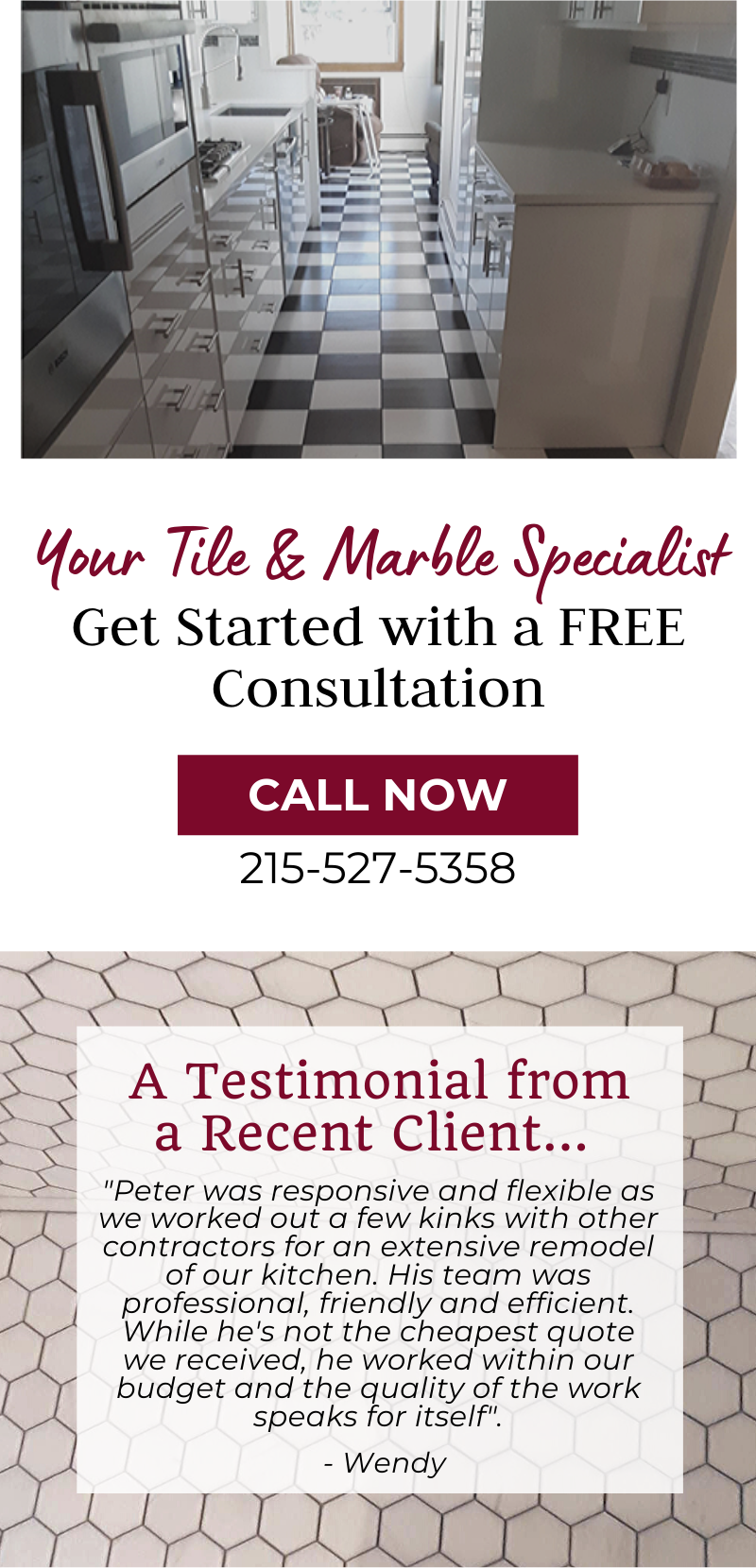 your tile & marble specialist