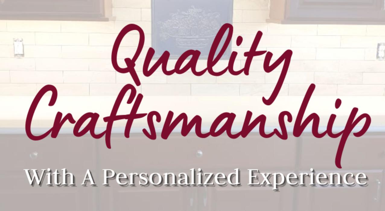 Quality Craftsmanship 🧰